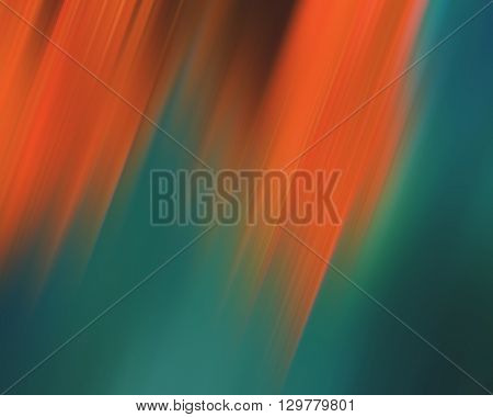 abstract background colorful lines and spots orange green