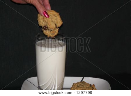 Cookie In Glass
