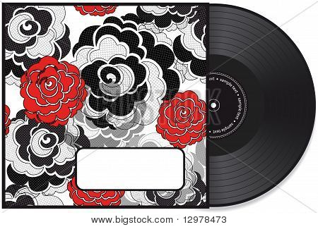 Vinyl disc cover