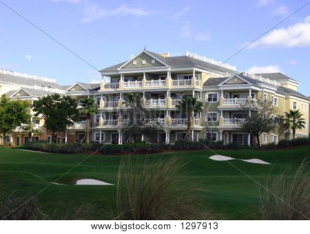 Landscaping At Golf Resort Hotel