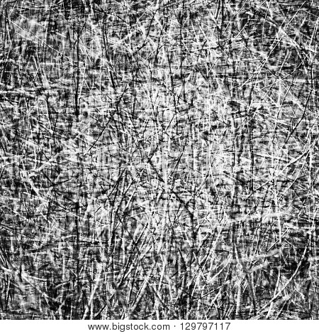 Abstract black and white background or texure
