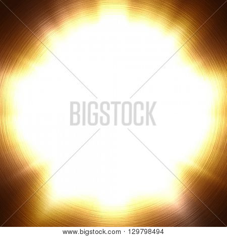 abstract gold lighting background