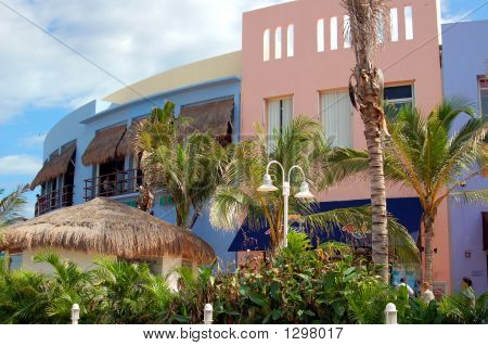 Downtown Cozumel