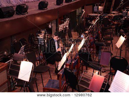músico de orquesta