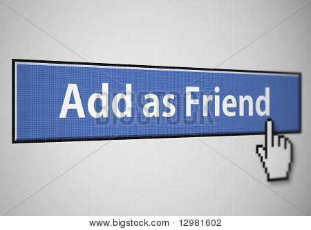 Als Freund hinzufügen