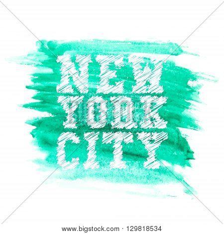 Vintage new york typography t-shirt graphics vector illustration