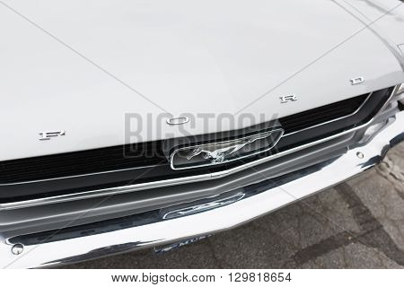Ford Mustang On Detail