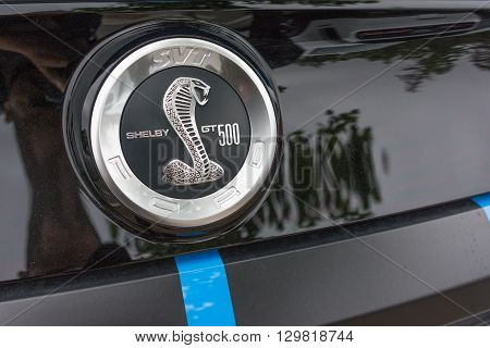 Ford Mustang Shelby Gt500 Cobra Emblem