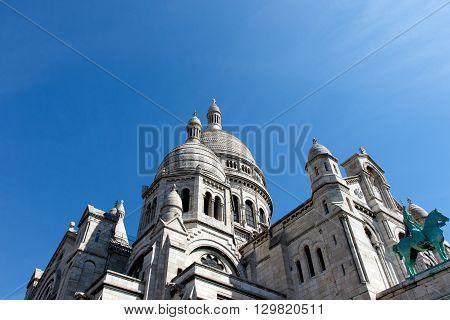 Basilica of the Sacre Couer on Montmartre, Paris, France