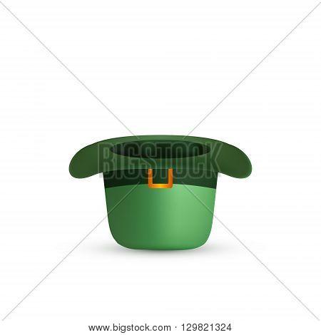 St. Patrick's Day Green Hat. Vector illustration