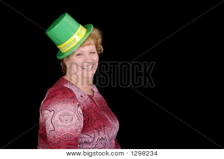 Irish Lass Ready To Party