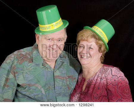 Happy Irish Couple