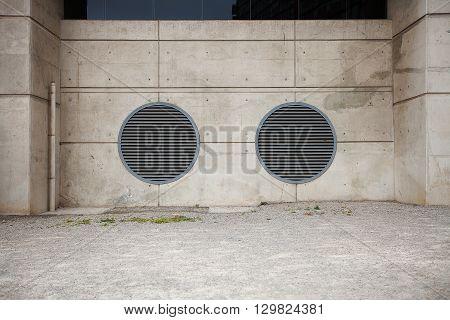 Circular Air Vents