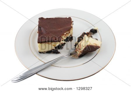 Sample Of Tasty Cheesecake