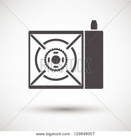 Camping Gas Burner Stove Icon