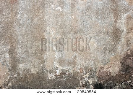 Old Grunge Concrete Wall Background Or Texture