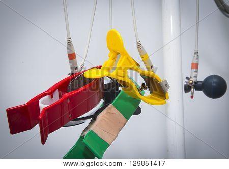 Ecg Clips Hanging
