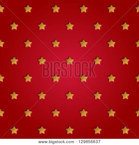 Astract perforated stars seamless pattern vector illustration. Stars pattern design.