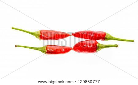 Red Hot Chili Peppers Cayenne, Serrano With Green Stem.