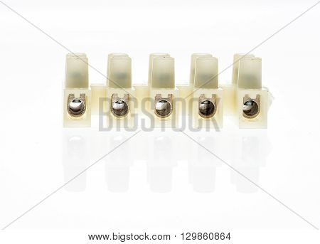 Electrical Connector Or Terminal Blocks Clamps For Electric Cables