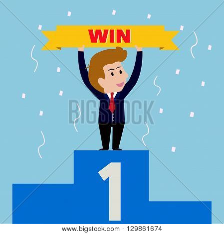 Business reward win,Can used for advertising idea.