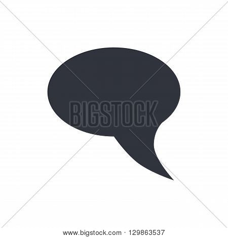 Talk Icon Icon In Vector Format. Premium Quality Talk Icon Symbol. Web Graphic Talk Icon Sign On Whi
