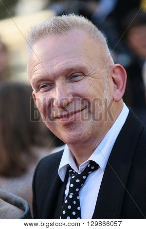 Jean-Paul Gaultier  attends the screening of 'From The Land Of The Moon (Mal De Pierres)' at the annual 69th Cannes Film Festival at Palais des Festivals on May 15, 2016 in Cannes, France.
