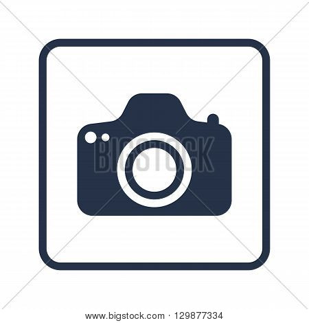 Photo Camera Icon In Vector Format. Premium Quality Photo Camera Symbol. Web Graphic Photo Camera Si