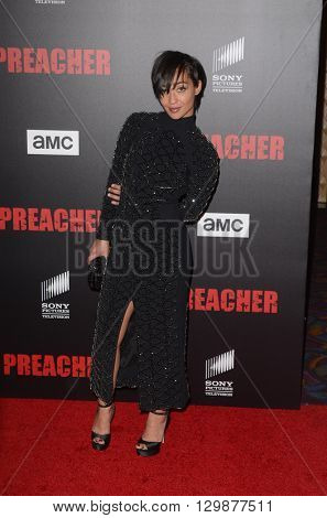 LOS ANGELES - MAY 14:  Ruth Negga at the Preacher Premiere Screening at the Regal 14 Theaters on May 14, 2016 in Los Angeles, CA