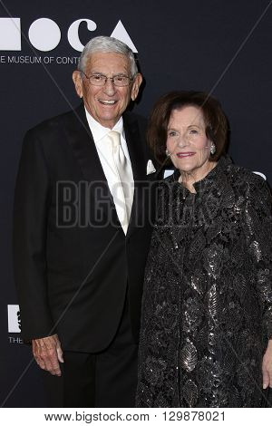 LOS ANGELES - MAY 14:  Eli Broad at the MOCA Gala at the Geffen Contemporary at MOCA on May 14, 2016 in Los Angeles, CA