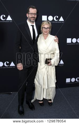 LOS ANGELES - MAY 14:  Eric White, Patricia Arquette at the MOCA Gala at the Geffen Contemporary at MOCA on May 14, 2016 in Los Angeles, CA