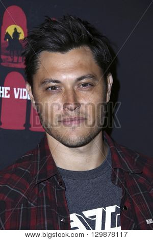 LOS ANGELES - MAY 10:  Blair Redford at the Launch of 8 Bullets to Hell at the Private Location on May 10, 2016 in Los Angeles, CA