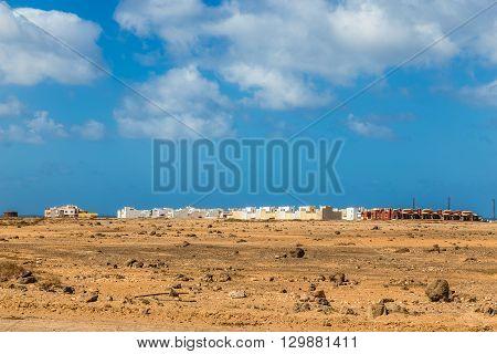 Buildings In El Cotillo Fuerteventura Canary Islands Spain