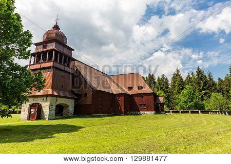 All Wooden Church Svaty Kriz In Slovakia