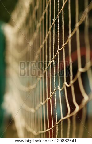 a fence stretched mesh nice a  background