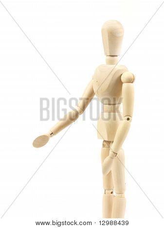 Wooden Manneguin
