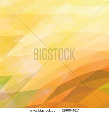 abstract background consisting of triangles - Illustration