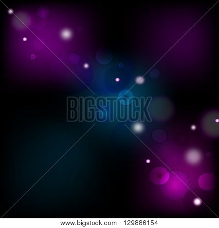 a one vector of glowing waves background