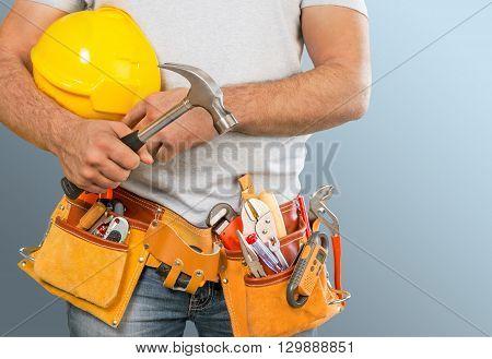 Repair handyman.