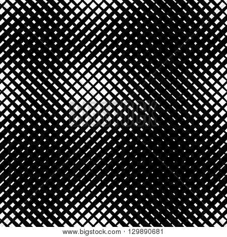 Grid, Mesh With Irregular Lines. Abstract Monochrome Background, Pattern.