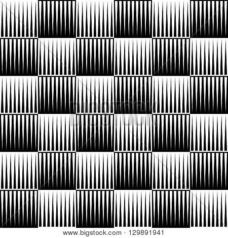 Abstract Pattern, Background With Edgy Lines. Monochrome Geometric Background, Texture.