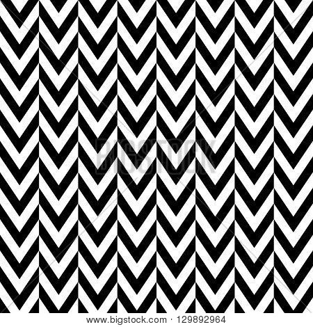 Edgy Geometric Seamlessly Repeatable Pattern, Monochrome Background