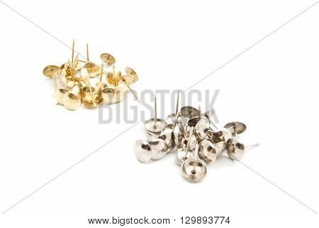 Piles Of Building Pins