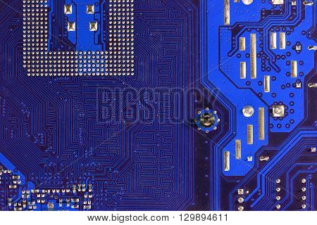 this is photo close up Circuits .
