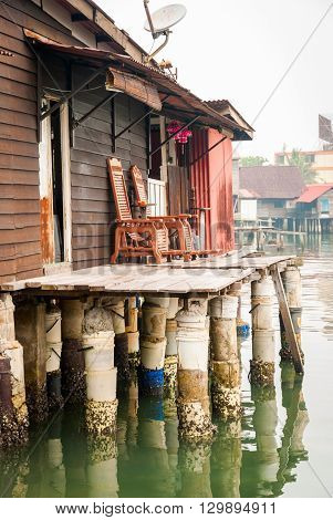 House Above The Water In George Town