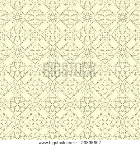 The pattern with decorative floral ornament in vintage style