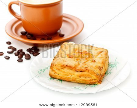 Coffee Cup and Pie