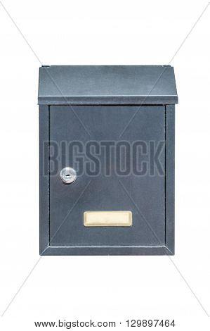 image of mailbox isolated on white background