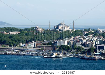 View Of Hagia Sofia