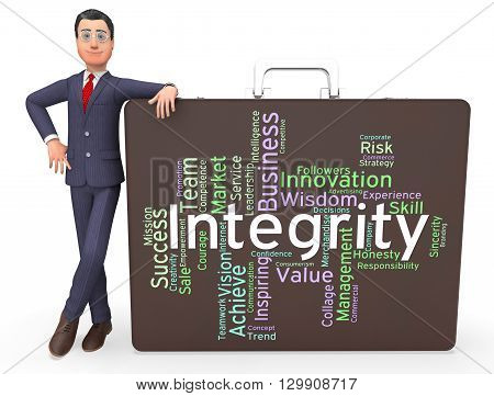 Integrity Words Means Text Morality And Virtue